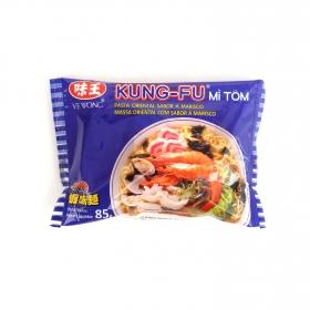 Fideos chinos con sabor a gambas Kung Fu 85 g.