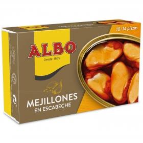 Mejillones 10/14 de las rías gallegas en escabeche Albo 72 g.