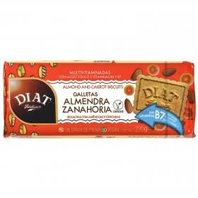 Galletas con almendra y zanahoria Diet Radisson 220 g.