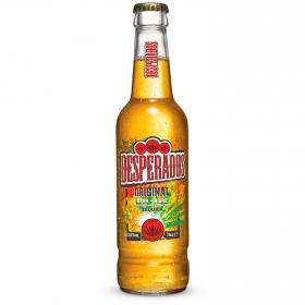 Cerveza Desperados con tequila botella 33 cl.