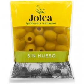 Aceitunas verde manzanilla sin hueso Jolca 180 g.