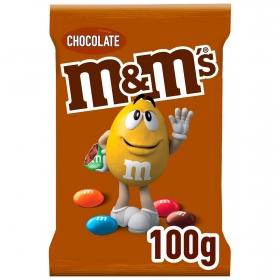 Grageas de chocolate con leche m&m's 125 g.