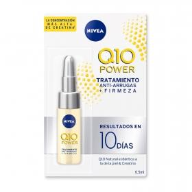 Ampolla concentrada de tratamiento anti-arrugas + firmeza Nivea Q10 Power 6,5 ml.