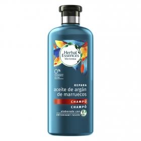 Champú aceite de argán de Marruecos Herbal Essences 100 ml.