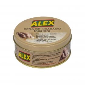 Cera Incolora para todo tipo de madera Alex 250 ml.