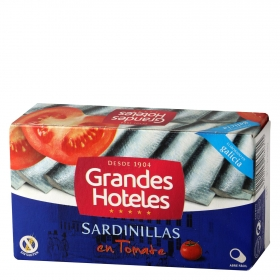 Sardinillas en tomate Grand Hotel sin gluten 60 g.