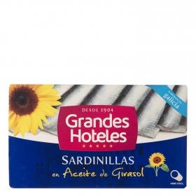 Sardinilla en aceite de girasol Grand Hotel 62 g.