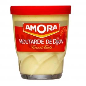 Mostaza de Dijón Amora tarro 150 g.