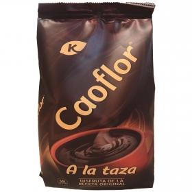 Chocolate a la taza en polvo Caoflor sin gluten 400 g.