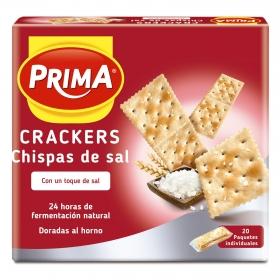 Crackers con chispas de sal Prima 500 g.