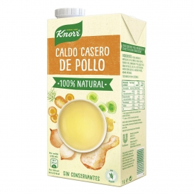 Caldo casero de pollo Knorr sin gluten 1 l.
