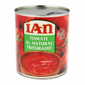Tomate triturado Ian 800 g.