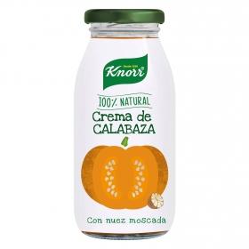 Crema de calabaza con nuez moscada Knorr 450 ml.