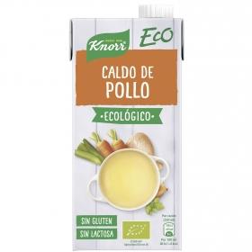 Caldo de pollo ecológico Knorr sin gluten y sin lactosa 1 l.