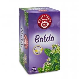 Boldo en bolsitas Pompadour 20 ud.
