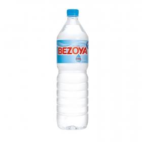 Agua mineral Bezoya natural 1,5 l.