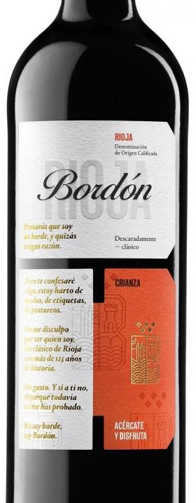Bordon Tinto Crianza 2016