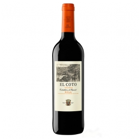 Vino D.O. Rioja tinto crianza El Coto 75 cl.