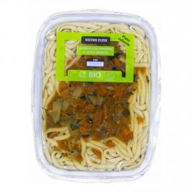 Noodles con verduras al estilo oriental Biomenú 280 grs