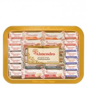 Turrones tradicionales surtidos El Almendro 400 g.