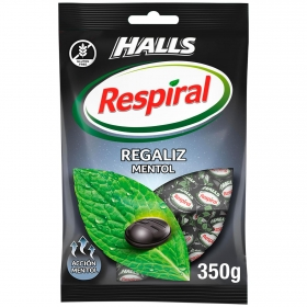 Caramelo sabor regaliz Respiral 350 g.