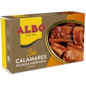 Calamares en salsa americana Albo 72 g.
