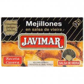 Mejillones en salsa de vieira Javimar 70 g.