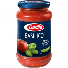 Salsa basílico Barilla tarro 400 g.