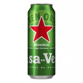 Cerveza Heineken Lager lata 50 cl.