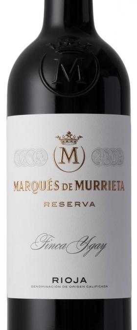 Marques De Murrieta Tinto Reserva 2015