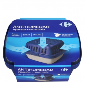 Antihumedad aroma neutro aparato y recambio Carrefour 1 ud.