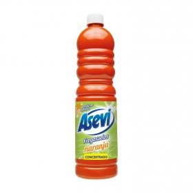 Fregasuelos naranja Avevi 950 ml.