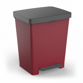 Cubo de Basura TATAY Cubik 23 l - Granate