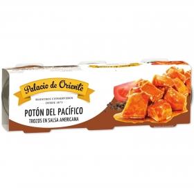 Calamares en salsa americana Palacio de Oriente pack de 3 unidades de 78 g.