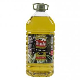 Aceite de oliva intenso 1º La Masía garrafa 5 l.