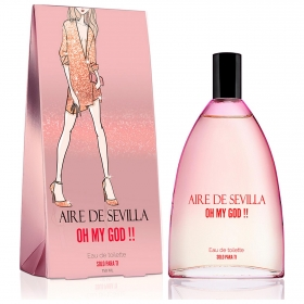 Agua de colonia Oh my god!! Aire de Sevilla 150 ml.