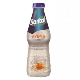 Bebida de avena y miel Santal botella 1 l.