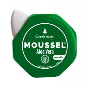 Gel de ducha purificante aloe vera Moussel 600 ml.