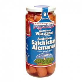 Salchichas alemanas Poppenburger 360 g.