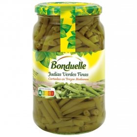 Judías verdes troceadas finas Bonduelle 345 g.