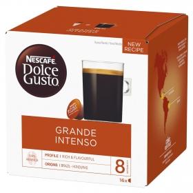 Café grande intenso en cápsulas Nescafé Dolce Gusto 16 unidades de 10 g.