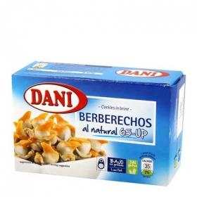 Berberechos al natural Dani sin gluten 110 g.