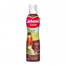 Aceite de oliva virgen Carbonell spray 200 ml.