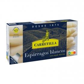 Espárragos blancos extra 8/12 Carretilla 150 g.