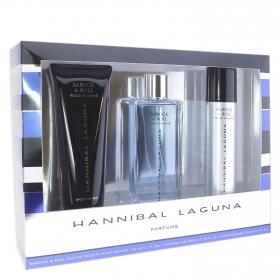 Estuche Barock & Roll (Colonia 150 ml. + Desodorante 150 ml.+ Gel 230 ml.) Hannibal Laguna 1 ud.