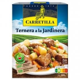 Ternera jardinera Carretilla 275 g.