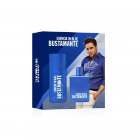 Estuche Bustamante Esencia in Blue: colonia 100 ml y Desodorante 150 ml.