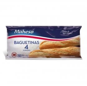 Baguetinas congeladas Maheso pack de 4 unidades de 125 g.