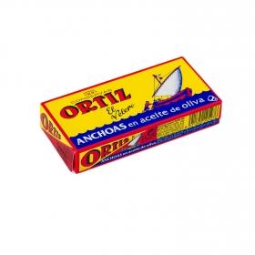 Anchoas en aceite de oliva Ortiz 48 g.