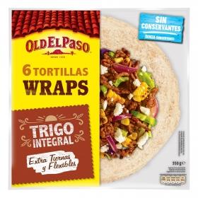 Tortillas integrales de trigo Old El Paso 350 g.